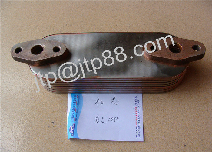 Engine Spare Parts EB100 EC100 EL100 Oil Cooler Core For HINO